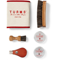 Turms - Shoe Care Kit with Leather Case