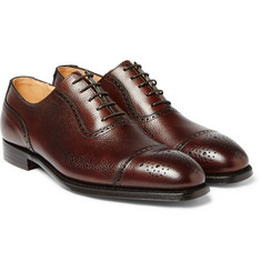 George Cleverley - Adam Scotch-Grain Leather Oxford Brogues