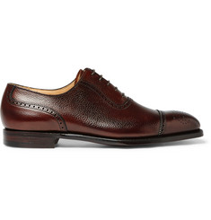 George Cleverley Adam Scotch-Grain Leather Oxford Brogues
