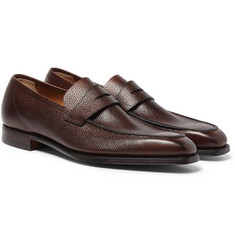 George Cleverley - Scotch-Grain Leather Loafers