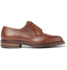 George Cleverley Archie Scotch-Grain Leather Derby Shoes