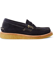 Yuketen Suede Loafers