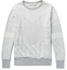 Remi Relief - Patterned Cotton Sweatshirt