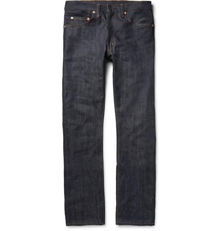 da0c89f002b Levi s 1947 501 Shrink-To-Fit Selvedge Denim Jeans In Dark Denim ...