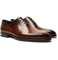 Berluti - Alessandro Capri Leather Whole-Cut Oxford Shoes