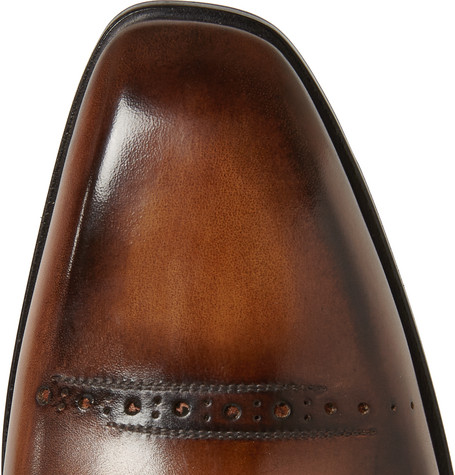 Berluti – Leather Derby Shoes – Brown