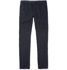 Massimo Alba Striped Linen Trousers