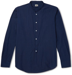 Massimo Alba - Slim-Fit Grandad-Collar Cotton Shirt