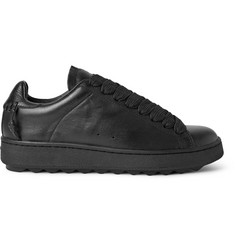 Coach Whipstitched Leather Sneakers