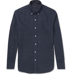 J.Crew - Slim-Fit Button-Down Collar Linen Shirt