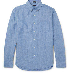 J.Crew Delave Button-Down Collar Linen Shirt