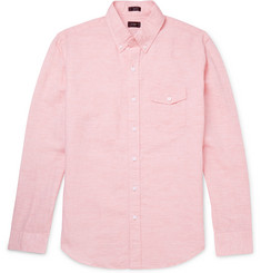 J.Crew - Button-Down Collar Linen and Cotton-Blend Shirt