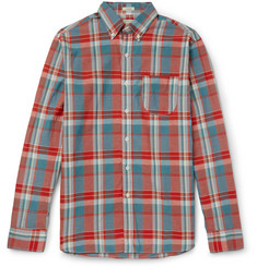 J.Crew - Madras-Checked Cotton Shirt