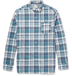 J.Crew Farnsworth Slim-Fit Madras Check Cotton Shirt