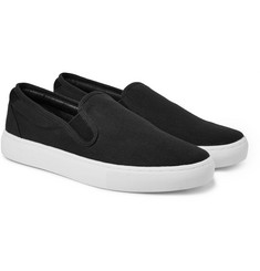 A.P.C. - Canvas Slip-On Sneakers