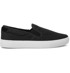 A.P.C. Canvas Slip-On Sneakers