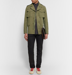 Sandro Cotton Field Jacket