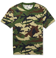 Sandro Slim-Fit Camouflage-Print Cotton-Jersey T-Shirt