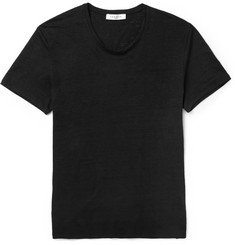 Sandro - Slim-Fit Slub Linen T-Shirt