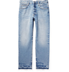 Sandro Distressed Washed-Denim Jeans