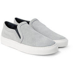 Sandro - Suede Slip-On Sneakers