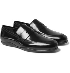 Harrys of London Downing 2 Glossed-Leather Loafers