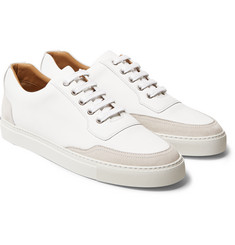 Harrys of London Mr. Jones 2 Leather and Suede Sneakers