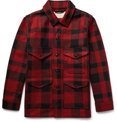 Filson Cruiser Buffalo-Checked Mackinaw Wool Jacket