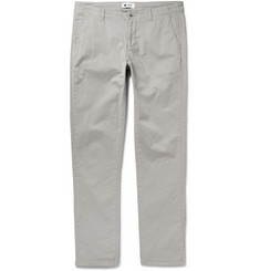 NN07 New Simon Slim-Fit Stretch-Cotton Trousers
