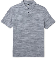 NN07 - Lupert Slim-Fit Mélange Cotton Polo Shirt