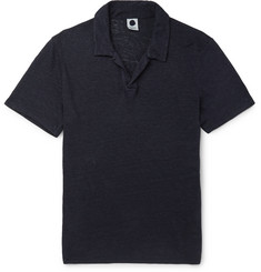 NN07 Jasper Slim-Fit Linen Polo Shirt