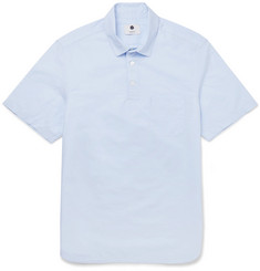 NN07 - Slim-Fit Slub Cotton and Linen-Blend Shirt