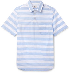 NN07 - Slim-Fit Striped Cotton Shirt