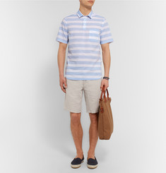 NN07 Slim-Fit Striped Cotton Shirt