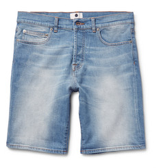 NN07 Stretch-Denim Shorts
