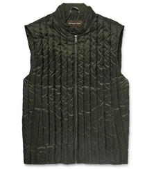 Michael Kors Quilted Water-Repellent Shell Down Gilet