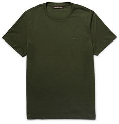 Michael Kors Slim-Fit Cotton-Jersey T-Shirt