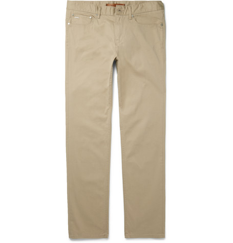 michael kors male 123917 michael kors slimfit stretchcotton chinos sand