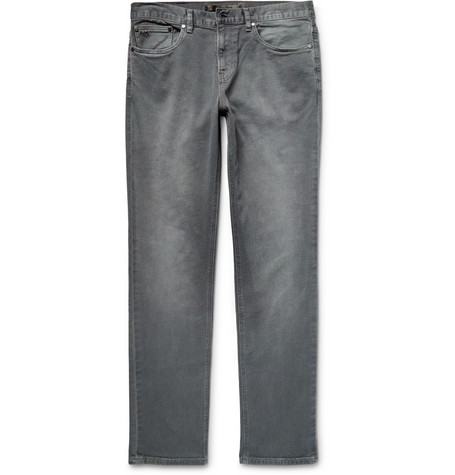 michael kors male 123868 michael kors slimfit stretchdenim jeans gray