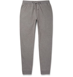 Michael Kors Slim-Fit Tapered Loopback Cotton-Jersey Sweatpants