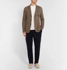 Barena - Sand Slim-Fit Unstructured Wool and Cotton-Blend Blazer