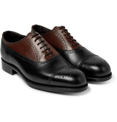 Grenson - + Foot the Coacher Leather Brogues
