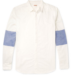 KAPITAL Contrast-Panelled Cotton Shirt