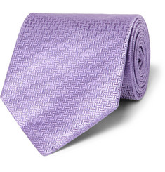 Hugo Boss Patterned Silk-Jacquard Tie