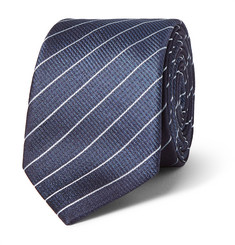 Hugo Boss Pinstriped Silk Tie