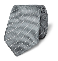 Hugo Boss - Pinstriped Silk Tie
