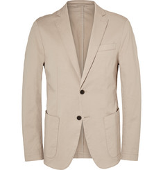 Hugo Boss - Stone Narvik Slim-Fit Stretch-Cotton Twill Blazer