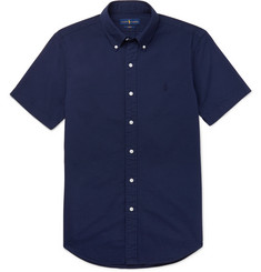 Polo Ralph Lauren Slim-Fit Cotton-Seersucker Shirt