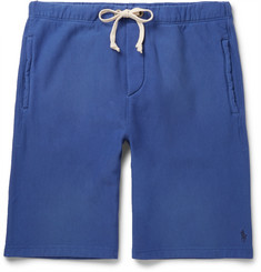 Polo Ralph Lauren Fleece-Back Cotton-Jersey Shorts