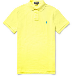 Polo Ralph Lauren - Slim-Fit Cotton-Piqué Polo Shirt